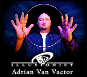 picture of illusionist Adrian Van Vactor