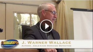 Cold-case homicide detective J. Warner Wallace built a case for Christianity, using evidence in the same way he closes unsolved homicides, at the May 2015 Explore the Evidence Breakfast.