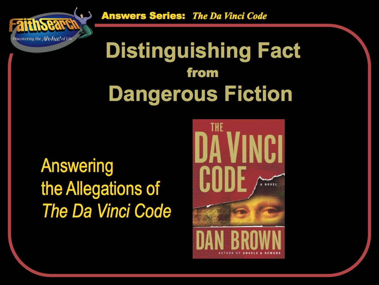 The Da Vinci Code Presentation Download Mac   FaithSearch ...