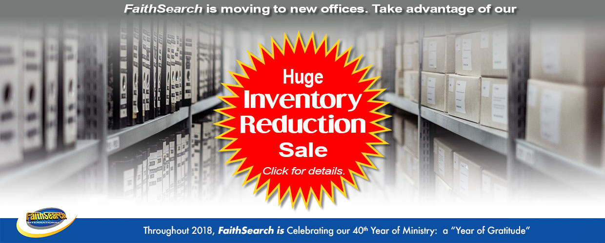 Inventory Reduction Sale Prices