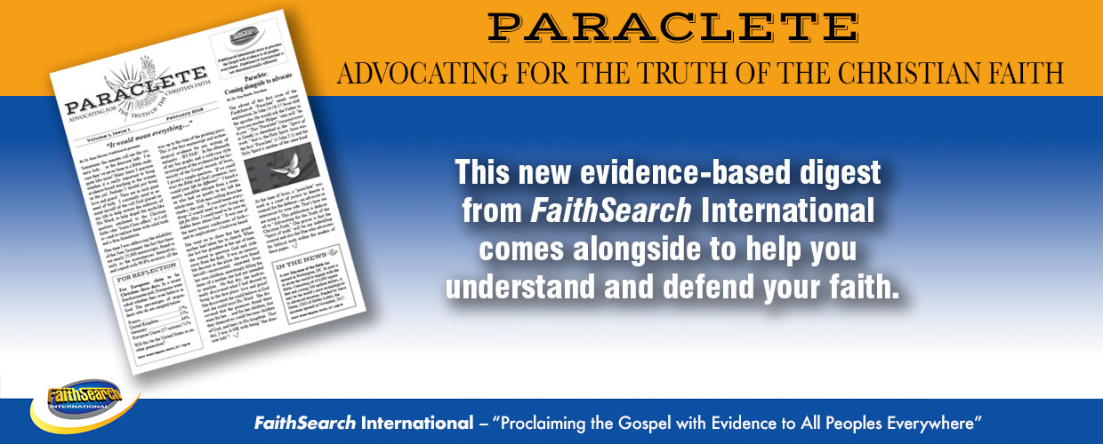 Paraclete: Advocating for the Truth of the Christian Faith