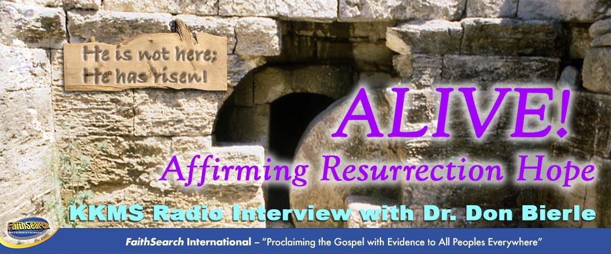 ALIVE! Affirming Resurrection Hope