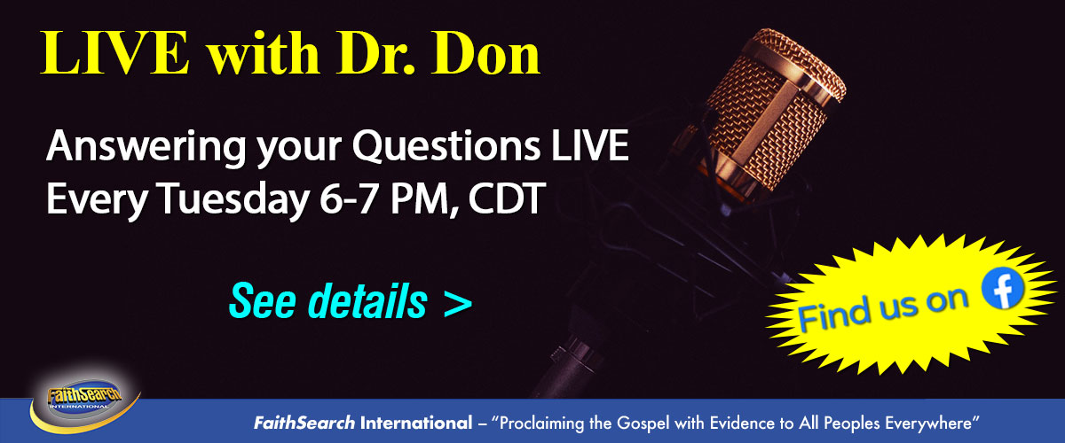 Live with Dr. Don